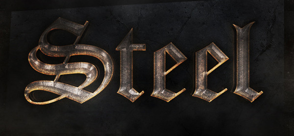 medieval photoshop text effects free
