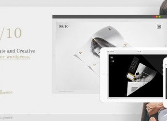 Corporate and Creative Theme for WordPress