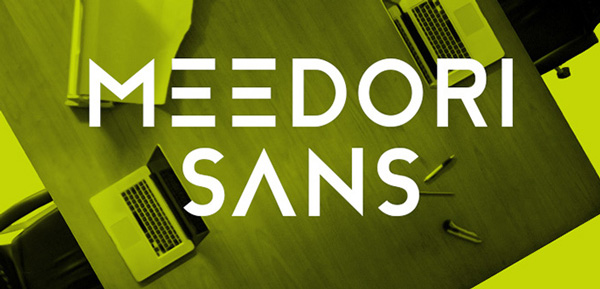 1.Fresh Free Font Of The Day  Meedori Sans