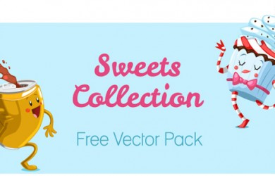 1.free cake muffin ice cream vector