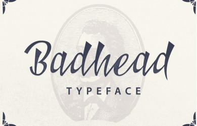 2.Fresh Free Font Of The Day  Badhead