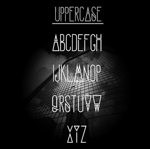 2.Fresh Free Font Of The Day  Structure