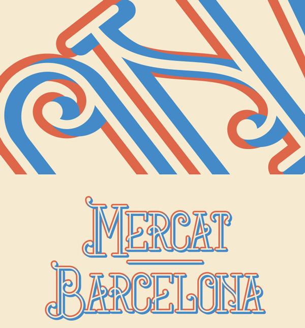 5.Free Font Of The Day  Mercat Barcelona