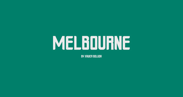 1.Fresh Free Font Of The Day  Melbourne