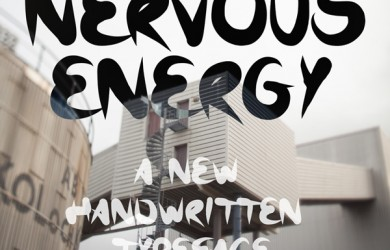 1.Fresh Free Font Of The Day  Nervous Energy