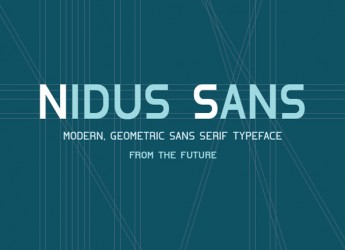 1.Fresh Free Font Of The Day  Nidus Sans