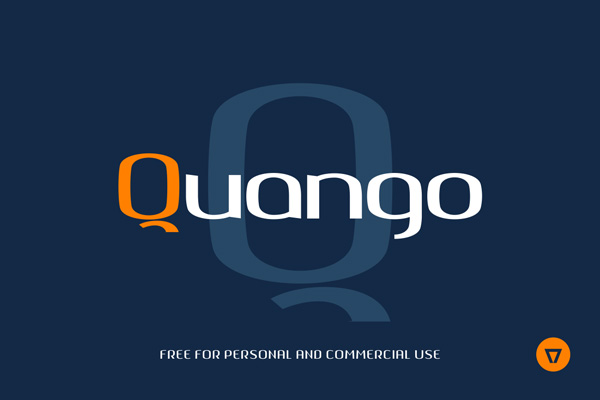 1.Fresh Free Font Of The Day  Quango