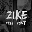 1.Fresh Free Font Of The Day  Zike