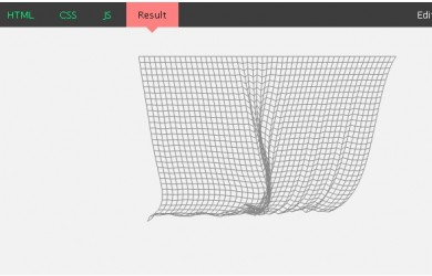 Javascript Cloth Simulation