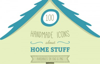 1.100 Handmade Icons About Home Stuff