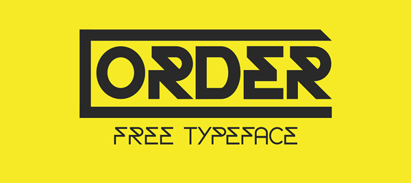 1.Fresh Free Font Of The Day  Order