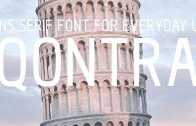 1.Fresh Free Font Of The Day  Qontra