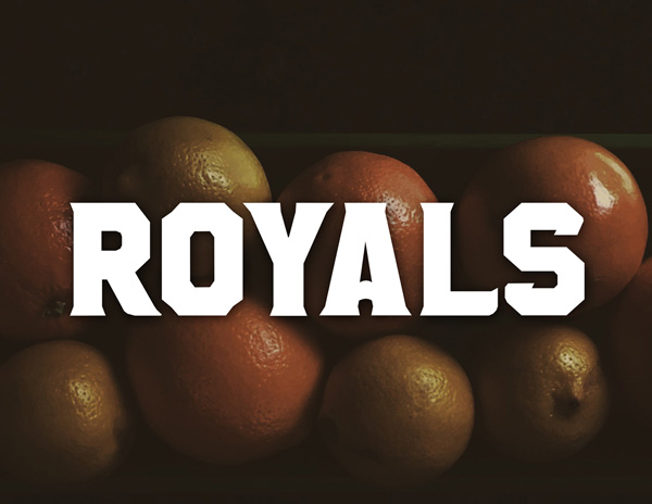1.Fresh Free Font Of The Day  Royals