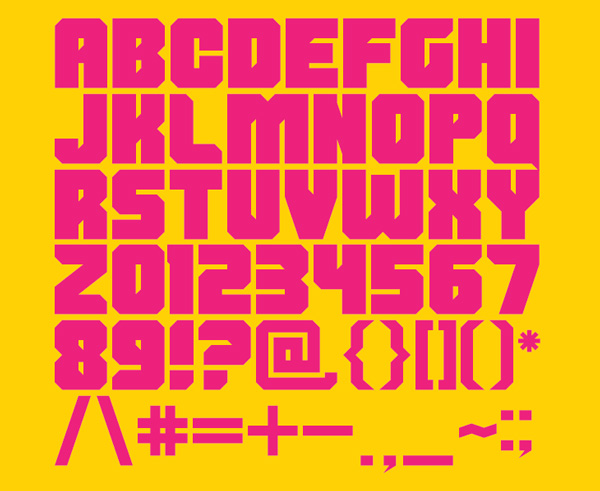 1.Fresh Free Font Of The Day  Shumi