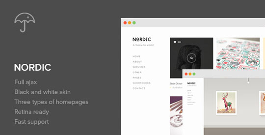 65 Handpicked Minimal Wordpress Themes For Portfolio Owners and ...