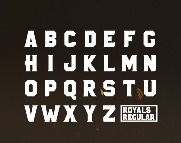 2.Fresh Free Font Of The Day  Royals