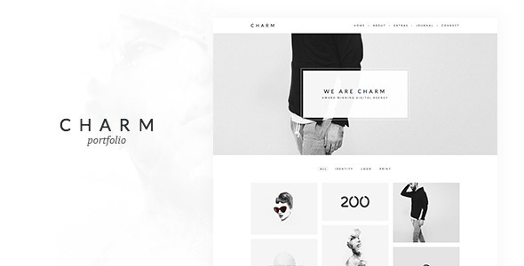 Ultra Minimal Portfolio WordPress Theme