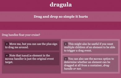 Drag and Drop Javascript Library