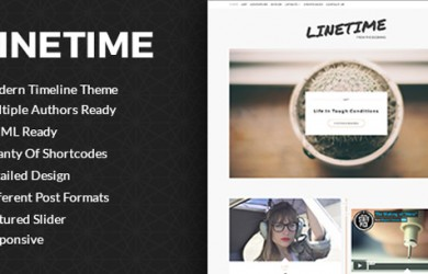 Timeline-Wordpress-Blog-Theme