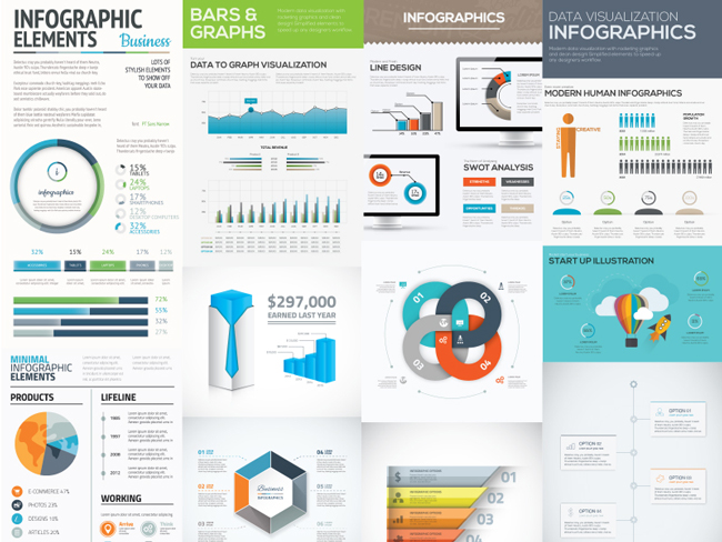 Infographic illustrator template free download