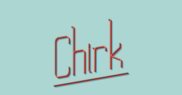 1.Fresh Free Font Of The Day  Chirk