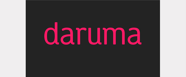 1.Fresh Free Font Of The Day  Daruma