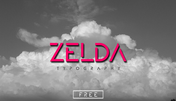 1.Fresh Free Font Of The Day  Zelda