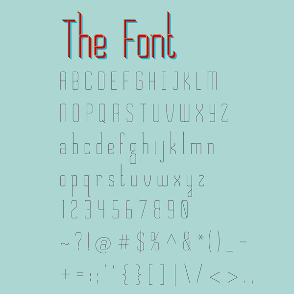 2.Fresh Free Font Of The Day  Chirk