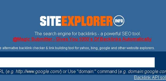 9.backlink checker tool