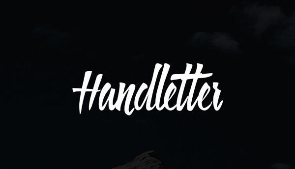 1.Fresh Free Font Of The Day  Handletter