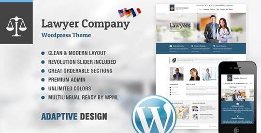 11.lawyer wordpress theme