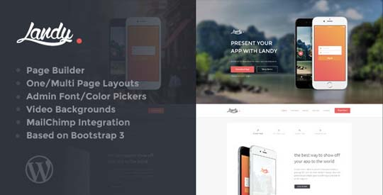 12.wordpress landing page theme