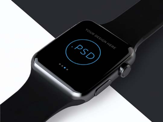 14.apple-watch-psd-mockup
