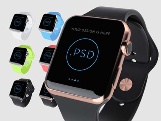 15.apple-watch-psd-mockup