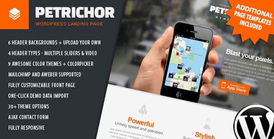 15.wordpress landing page theme
