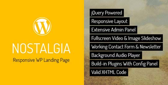 16.wordpress landing page theme