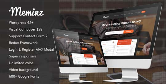 23.wordpress landing page theme