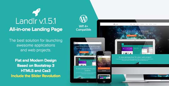 24.wordpress landing page theme
