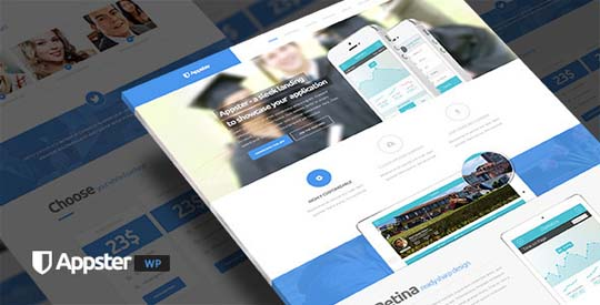 25.wordpress landing page theme