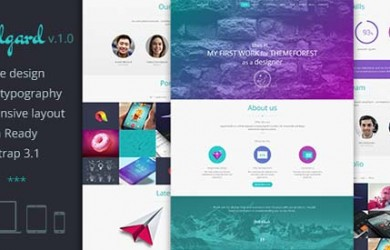 26.wordpress landing page theme
