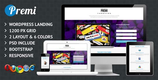 28.wordpress landing page theme