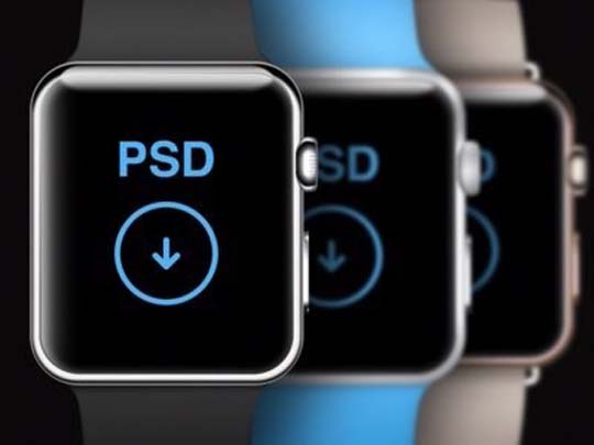 3.apple-watch-psd-mockup