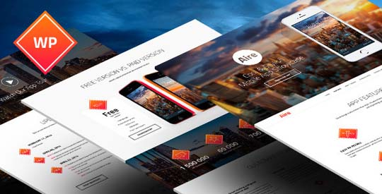 33.wordpress landing page theme