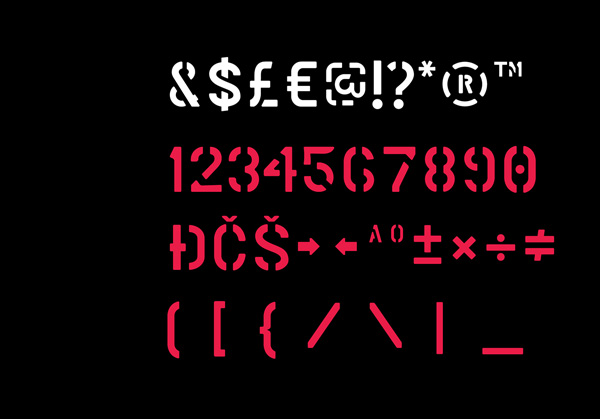 4.Fresh Free Font Of The Day  Marsh Stencil