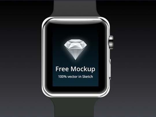 6.apple-watch-psd-mockup