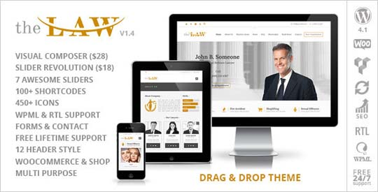 8.lawyer wordpress theme