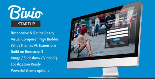 9.wordpress landing page theme