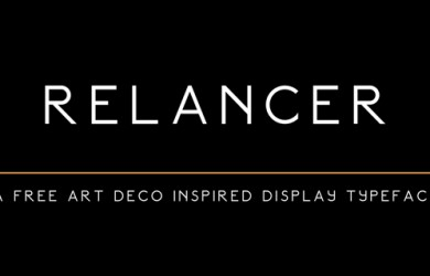 1.Fresh Free Font Of The Day  Relancer
