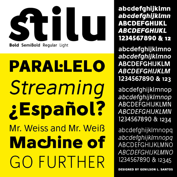 1.Fresh Free Font Of The Day  Stilu
