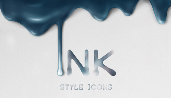 1.Ink Style Icons